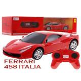 Masina Ferrari 458 Italia cu telecomanda - Masinuta Rastar