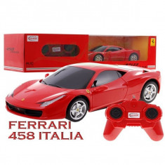 Masina Ferrari 458 Italia cu telecomanda