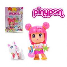 Papusa Pinypon cu catelus 9568 Famosa, 2-4 ani
