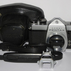 Pentax Asahi SP500 -1971- Body -M42 + Husa, curea, patina blitz, adaptor baterie - Aparat Foto cu Film Pentax
