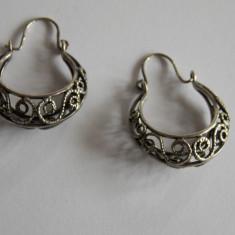 Cercei de argint - 374 - Cercei argint