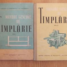 MANUAL GENERAL DE TAMPLARIE- CARSTEA, GHEORGHIU, LAZARESCU- VOL. I SI II - Carti Constructii
