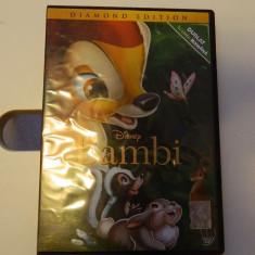 DVD Bambi, film pentru copii, dublat in romana, 67 minute - Film animatie