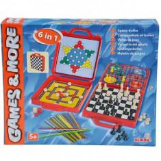 Set jocuri de societate 6 in 1 Simba - Joc board game