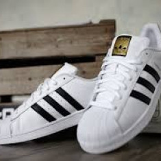 Adidas Superstar, adidasi unisex - poze reale - Adidasi barbati, Marime: 36, 37, 38, 39, 40, 41, 42, 43, 44, Culoare: Alb