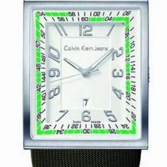 Calvin Klein K4211138 ceas barbati 100% original. In stoc - Livrare rapida. - Ceas barbatesc Calvin Klein, Casual, Quartz, Inox, Piele, Analog