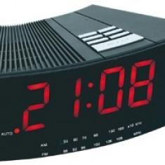 Ceas deşteptător cu radio am/fm LTCR 01 - Radio cu ceas