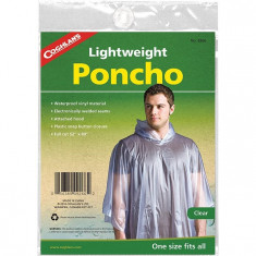 Coghlans Pelerina de ploaie Poncho Vinyl Transparent 9266 marime universala - Pelerina ploaie