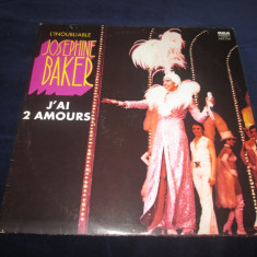 Josephine Baker – J'ai Deux Amours _ dublu vinyl, 2 x LP, Franta, 1975 - Muzica Jazz rca records, VINIL