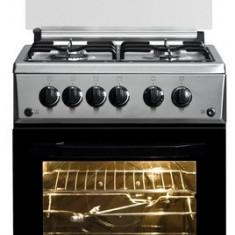 Aragaz Beko CSG52110DX, 4 arzatoare, Grill, Rotisor