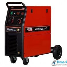 Aparat sudura Mig Mag Powertec 231C LINCOLN ELECTRIC