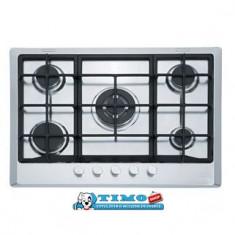Plita Gaz Incorporabila Multi Cooking 700 - 5 Arzatoare FHM 705 4G TC XT C Inox Microdekor Franke - Plita incorporabila Franke, Argintiu, Numar arzatoare: 5