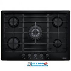 Plita Gaz incorporabila Multi Cooking 700 - 5 Arzatoare FHM 705 4G TC BK E Neagra Franke - Plita incorporabila Franke, Negru, Numar arzatoare: 5
