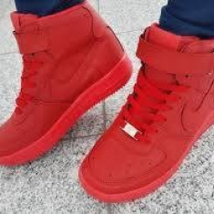 Ghete Adidasi Nike Air Force 1 Barbati - Ghete barbati Nike, Marime: 39, 40, 41, 42, 43, 44, Culoare: Din imagine, Piele sintetica