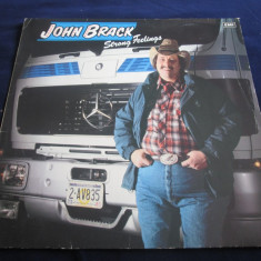 John Brack ‎– Strong Feelings _ vinyl(LP, album) Elvetia - Muzica Country Altele, VINIL