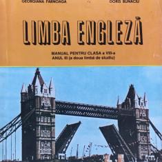 LIMBA ENGLEZA MANUAL PENTRU CLASA A VIII-A - Georgiana Farnoaga, Doris Bunaciu - Curs Limba Engleza