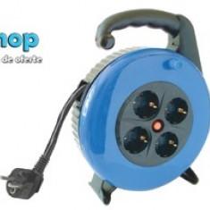 Prelungitor cu tambur 10 m cablu electric HJR 3-10 - Cablu si prelungitor