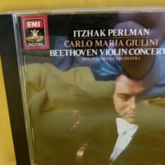 Beethoven - Violin co. - Itzak Perlman - Muzica Clasica emi records, CD