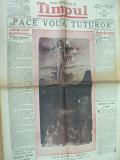 Timpul Pasti 9 aprilie 1939  Ciucurencu Bacalu  M. Patrascu caricatura cinema