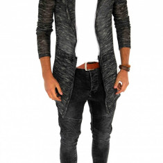 Cardigan tip ZARA fashion - Cardigan barbati - 7354 - Hanorac barbati, Marime: S/M, L/XL, Culoare: Din imagine