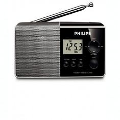 Radio portabil Philips AE1850/00, Mono, 100 mW RMS, LCD, Digital