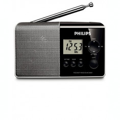 Radio portabil Philips AE1850/00, Mono, 100 mW RMS, LCD - Aparat radio Philips, Digital