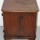 Noptiera Vintage din lemn masiv;  Dulap; Comoda mica; Dulapior
