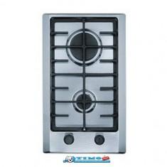 Plita Gaz Incorporabila Multi Cooking 300 - FHM 302 2G XS C Inox Franke - Plita incorporabila Franke, Argintiu, Numar arzatoare: 2