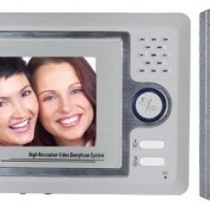 Set video-interfon de poarta, color, cu fir DPV 22