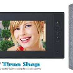 Set video-interfon de poartă, color, cu fir DPV 23