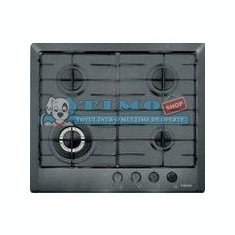 Plita Gaz Incorporabila Multi Cooking 600 - 4 Arzatoare FHM 604 3G TC GF E Grafite Franke - Plita incorporabila Franke, Argintiu, Numar arzatoare: 4