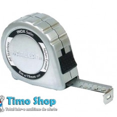 Ruleta inox 5 m X 19 mm KOMELON 10020 - Ruleta masura