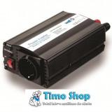 Invertor de tensiune cu usb, 12v -> 220v, 300w, Well PSUP-INV/U-12V300W/02-WL
