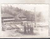 Bnk foto - Izvorul Muntelui - 1979, Alb-Negru, Cladiri, Romania de la 1950