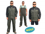 Costum impermeabil ( Ploaie ) Behr Format din 2 piese Geaca + Pantalon Bretele, L, M, XL, XXL, XXXL, XXXXL, Barbati, Costume complete