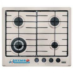 Plita Gaz Incorporabila Multi Cooking 600 - 4 Arzatoare FHM 604 3G TC OA E Avena - Plita incorporabila Franke, Argintiu, Numar arzatoare: 4