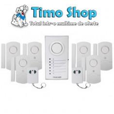 Sistem de alarma multifunctional wireless Konig SEC-ALARM100 - Interfon