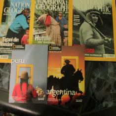 NATIONAL GEOGRAPHIC VIATA LUI CEAUSESCU, HUTULII, TIGANI DIN ROMANIA, PERU, ARGEN - Almanah