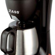 Aparat cafea filtru permanent Cafetiera Zass ZCM02 S, 600w, 0.6 litri, 4-6 cesti