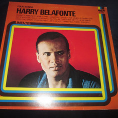 Harry Belafonte – Folk Songs _ vinyl(LP, compilatie) Italia - Muzica Folk rca records, VINIL