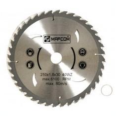 Panza circulara placata 400 x 30 mm 40Z MAF