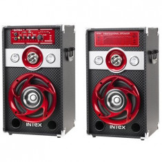 Boxa Activa DJ SPEAKER KOM0654 SET DJ601 INTEX - Echipament karaoke