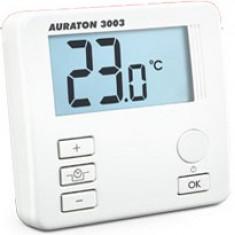 Termostat cu fir Auraton 3003, 0 – 45°C, LCD