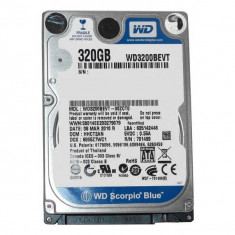 HDD LAPTOP 320GB SATA WD3200BEVT 2.5