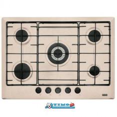 Plita Gaz Incorporabila Multi Cooking 700 - 5 Arzatoare FHM 705 4G TC OA E Avena Franke - Plita incorporabila Franke, Crem, Numar arzatoare: 5