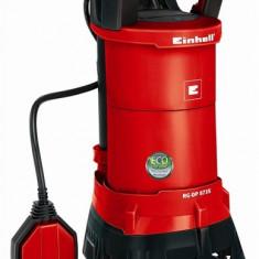 Pompa submersibila Einhell RG-DP 8735 - Pompa gradina Einhell, Pompe submersibile, de drenaj