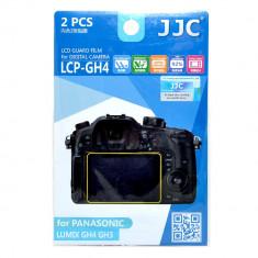 JJC LCP-GH4 Folie protectie LCD pt Panasonic Lumix GH3, GH4, GX8 - Accesoriu Protectie Foto