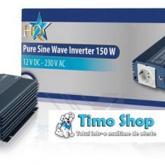 Invertor cu iesire sinusoidala pura 12 - 230 v 150W HQ-PURE150-12 - Invertor curent
