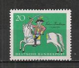 Germania.1970 250 ani nastere K.F.Hieronymus-Ilustratie  SG.307