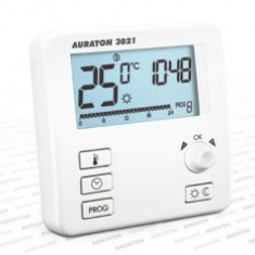 Termostat cu fir Auraton 3021, 0 – 45 ° C, 16A
